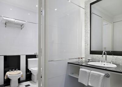 Baño Suite Ejecutiva Nuevo Ostende Hotel Mar del Plata