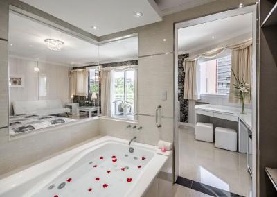 Baño Suite Nupcial Nuevo Ostende Hotel Mar del Plata