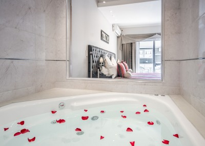 Jacuzzi Suite Terraza con Parrilla Nuevo Ostende Hotel Mar del Plata
