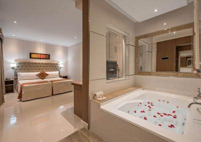 Baño Suite Junior Nuevo Ostende Hotel Mar del Plata