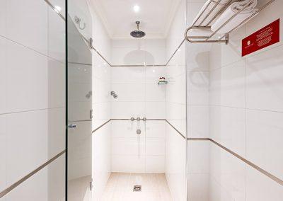 Baño Habitación Estándar Nuevo Ostende Hotel Mar del Plata