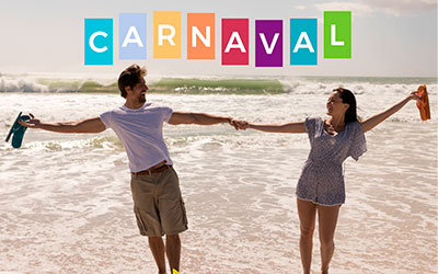 Carnaval 15% OFF